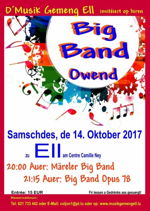 110 Joer Musik Gemeng Ell - Bigband Owend