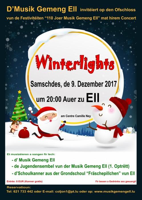 Winterlights 2017 - Musik Gemeng Ell